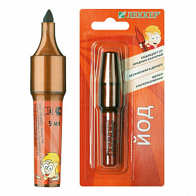 Iodine pencil of LEKKER-YOD-3 (TYPE 3)
